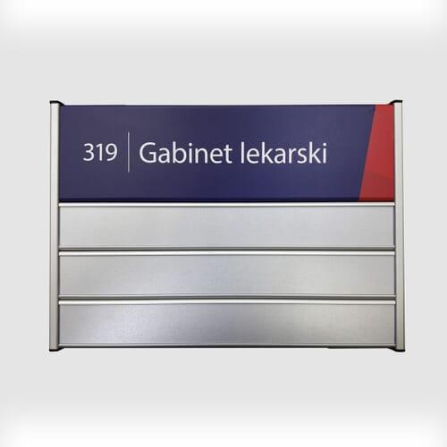 Tabliczki przydrzwiowe Universal 6