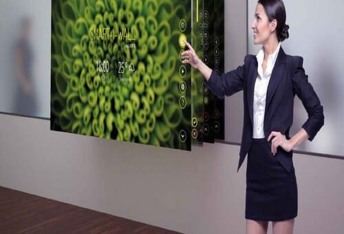 Interaktywna ścianka Smart-i-Wall 1