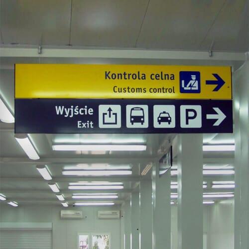Oznakowanie i wyposażenie wybudowanych pomieszczeń 2