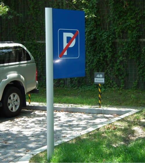 Tabliczki parkingowe 4