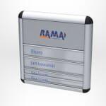 Tabliczki przydrzwiowe Rama