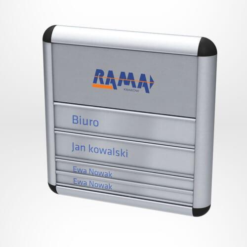 Tabliczki przydrzwiowe Rama 1