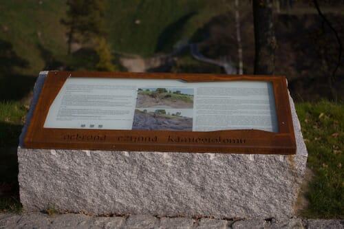 Tablice informacyjne w parkach 2