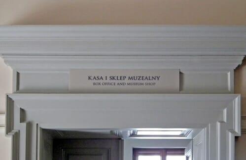 Oznakowanie muzeów 2