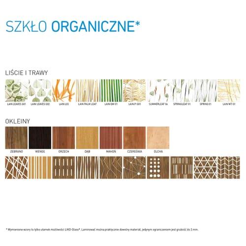"""Szyby laminowane """"strukturalne"""" i """"organiczne"""" 6"""