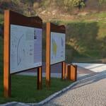 Tablice informacyjne w parkach