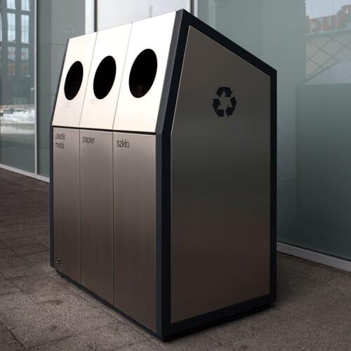 Kosz do segregacji odpadów 1