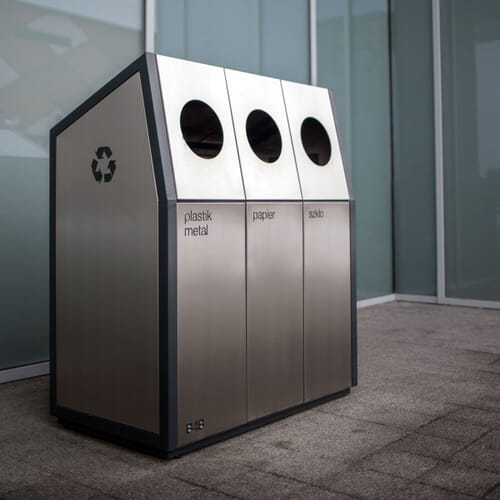 Kosz do segregacji odpadów 3