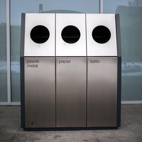 Kosz do segregacji odpadów 2